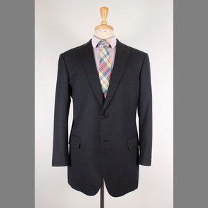 Brooks Brothers 40R Gray Sport Coat B896